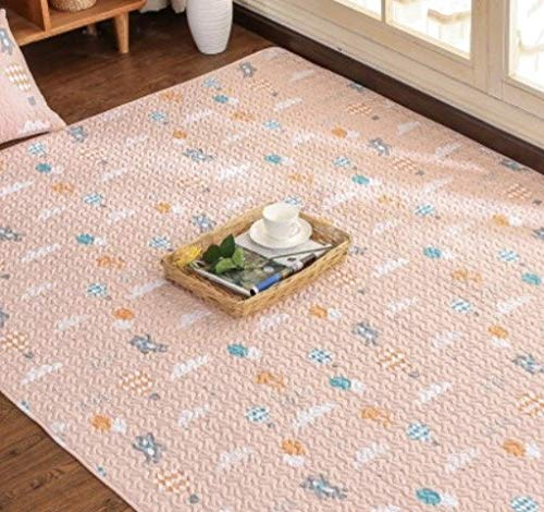 No2 YOOMAT Cotton Carpet Kids Room Yoga Mat Muti Taille Cartoon Design 4 Styles Rug for Living Room Window 50 x 150 cm