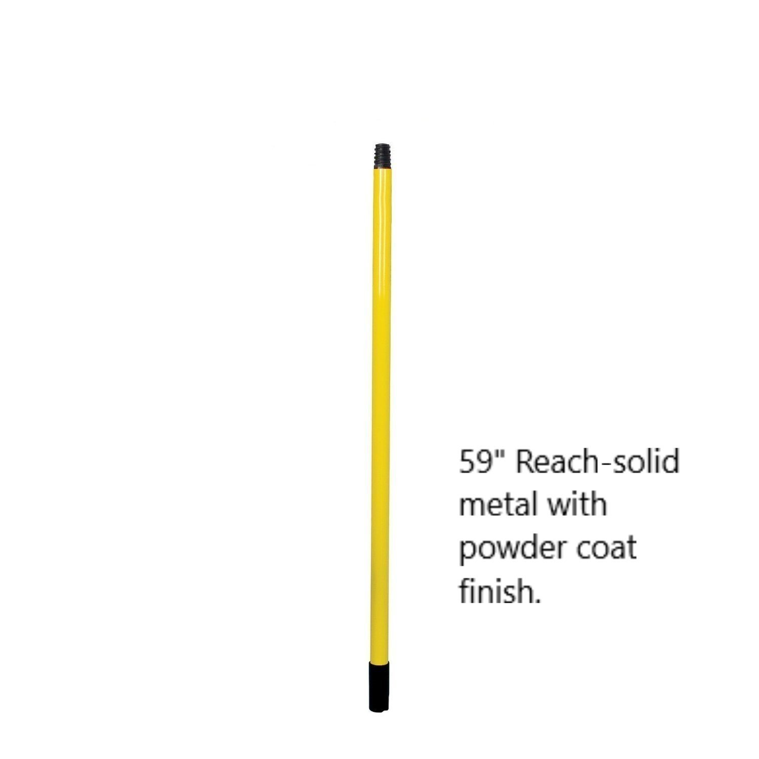 Sweepa Rubber Broom. Various Poles and Head Sizes Available. Dutch Rubber Broom, with Squeegee. Bonus Cleaning Cloth with Every Purchase. (Commercial Head w/59'' Pole) by GreatProductsUnlimited (Image #2)