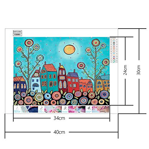 Heliovia Special Shaped DIY Diamond Painting Cross Stitch Kits Part Diamond Embroidery Home Home Wall Decor]()