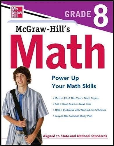 Amazon.com: McGraw-Hill's Math Grade 8 (Test Prep) (9780071748612 ...