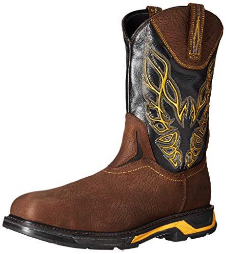 Ariat Work Men's WORKHOG XT FIREBIRD CARBON TOE Boot, bruin brown, 15 D US