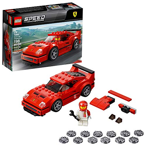 LEGO Speed Champions Ferrari F40 Competizione 75890 Building Kit , New 2019 (198 Piece) (Top 10 Best Supercars)