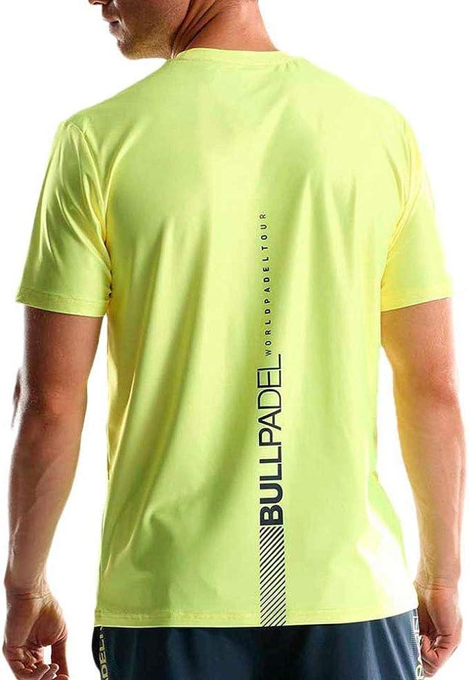 Bullpadel Camiseta TUGO Amarillo: Amazon.es: Deportes y aire libre