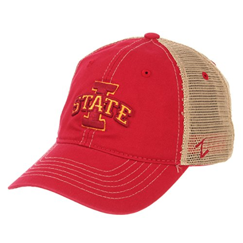 size 40 36288 661d1 ZHATS NCAA Iowa State Cyclones Men s Institution Relaxed Cap, Adjustable,  ...