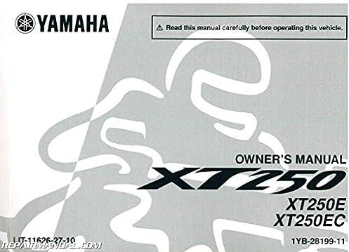 lit 11626 27 10 2014 yamaha xt250e motorcycle owner s manual rh amazon com yamaha motorcycle owners manual 2014 yz450f yamaha motorcycle owners manuals online