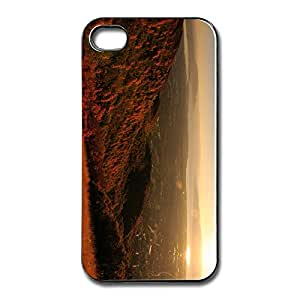 Squaw Peak Sunset Customize Sports Skin For IPhone 4