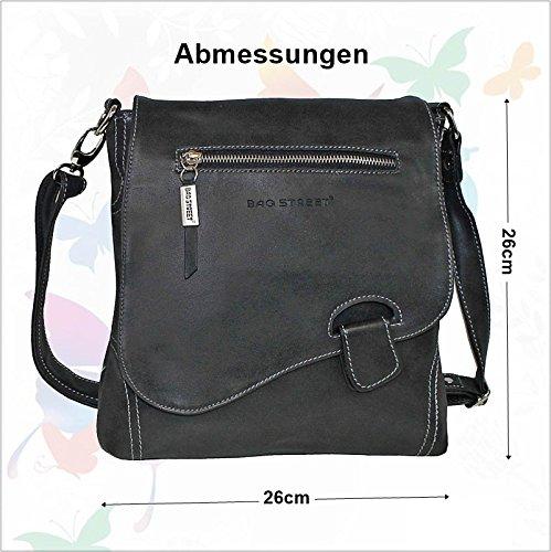 Latched Street BLUE Shoulder Handbag Look Bag Used Bag 5z4wT