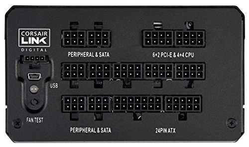 CORSAIR HXi Series, HX850i, 850 Watt, 80+ Platinum Certified, Fully Modular - Digital Power Supply (Renewed)