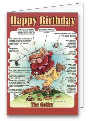 Amazon gary patterson golf greeting card office products gary patterson golf greeting card m4hsunfo Image collections