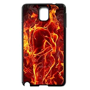 ZK-SXH - Fire Girl Personalized Phone Case for Samsung Galaxy Note 3 N9000, Fire Girl Customized Case