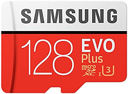 Samsung 128GB EVO Plus Class 10 Micro SDXC with Adapter (MB-MC128GA/EU) Read:up to 100MB/s <span at amazon