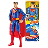 Justice League DC Comics Year 2016 Action Series 12 Inch Tall Figure - SUPERMAN FBR03 with 11 Points of Articulation