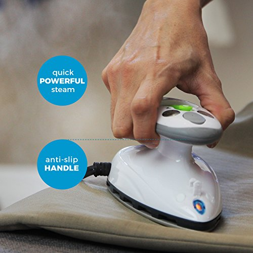 Steamfast SF-717 Mini Travel Steam Iron Dual Voltage, Travel Bag, Non-Stick Soleplate, Anti-Slip Handle, Rapid Heating, 420W Power by Steamfast (Image #3)