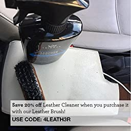 TriNova Leather Cleaner with Microfiber Towel - 18 oz
