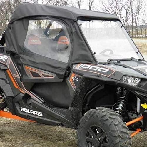 (Polaris RZR Full Enclosure With Lexan Windshield GCL (Onyx Black, 2014-18 Polaris RZR XP 1000 / RZR XP Turbo))