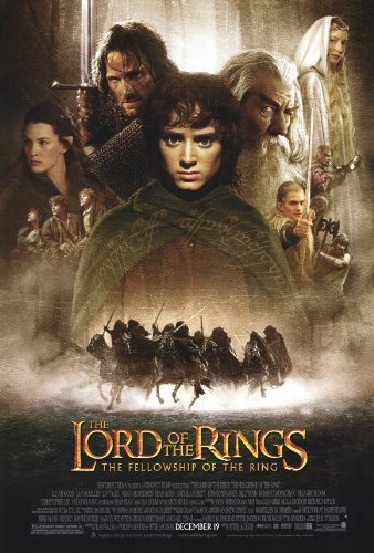 Lord of the Rings 1: The Fellowship of the Ring POSTER Movie (27 x 40 Inches - 69cm x 102cm) (2001)