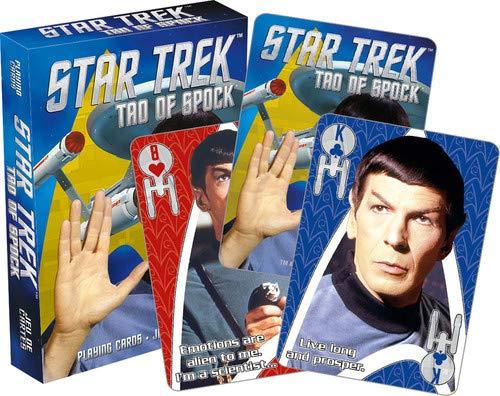 Aquarius Star Trek Tao of Spock Playing Card ()