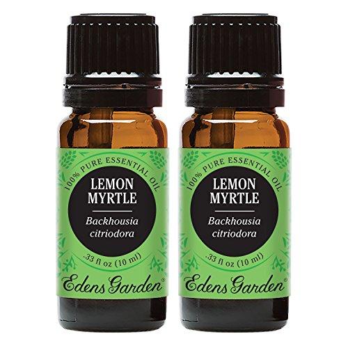 Edens garden lemon myrtle 10 ml 100 pure undiluted - Edens garden essential oils reviews ...