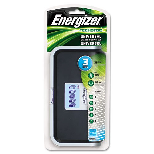 Energizer Rechargeable Charger - Energizer Family Battery Charger, Multiple Battery Sizes