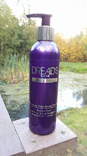 DreadsUK - Liquid Dreadlocks Shampoo (250ml) Residue Free by DreadsUK