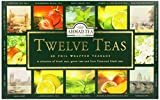 Ahmad Tea Twelve Teas, 60-Count Assorted Package