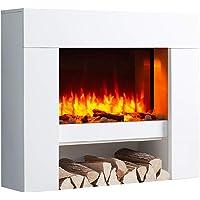 RICHEN - Chimenea eléctrica, Modelo Naran, Chimenea electrica de pie con calefacción,…