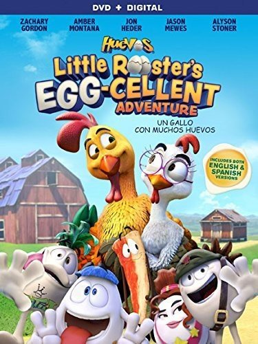 Huevos: Little Rooster's Egg-Cellent Adventure [DVD + Digital] (Huevos Dvd)
