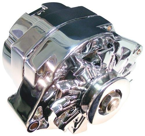 Hitachi Automotive Products HIT-100 1-Wire 100 Amp Chrome Alternator for GM by Hitachi (Image #1)