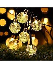 Solar String Lights, OxyLED 60 LED Garden Patio Outside Solar String Light,Waterproof Indoor/Outdoor String Lights, Great Garden Terrace Patio Outside Xmas Lights(White Light)