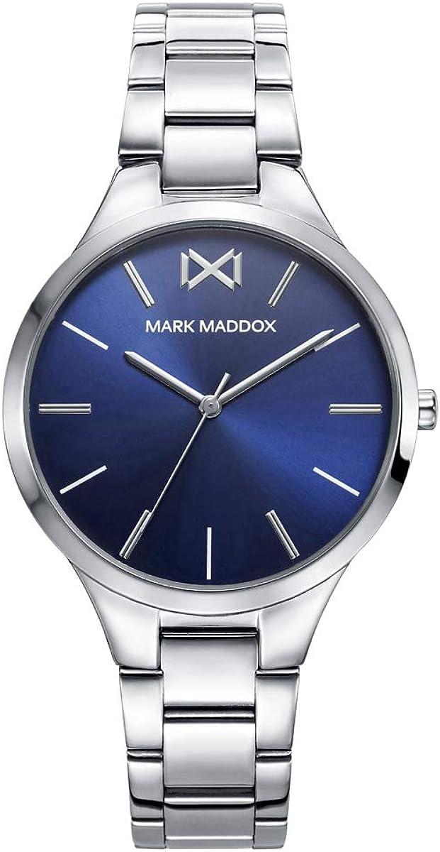 Mark Maddox Mujer MM0109-57 Acero Plateado