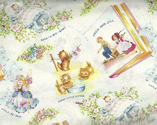 Thats My Baby Nursery Rhymes Washington Street Studio Fabric