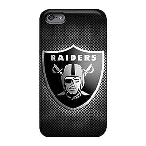 Perfect Hard Phone Covers For Apple Iphone 6 (nFa1408Nnjj) Custom Stylish Oakland Raiders Image