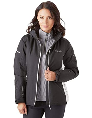7360013763 Dare 2b Women s Contrive and Breathable Ski Waterproof Insulated Jacket