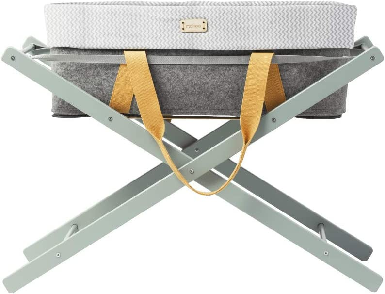 Chevron Grey moKee WoolNest Liner