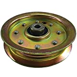 LASER Flat Idler Pulley Replaces AYP, Sears, Craftsman, Husqvarna 175820 - Fits 48 Inch Decks 2003 And Newer