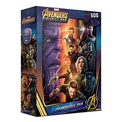 500Piece Jigsaw Puzzle Marvel Avengers Infinity War I: Toys & Games