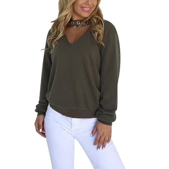 ASHOP Ropa Mujer, Sudaderas Mujer Cortas con Capucha Blusas Invierno Tops Hoodie Sweatshirt Outwear (