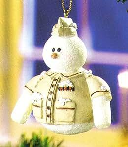 Snowberry Cuties US Marine Military Christmas Ornament #12419