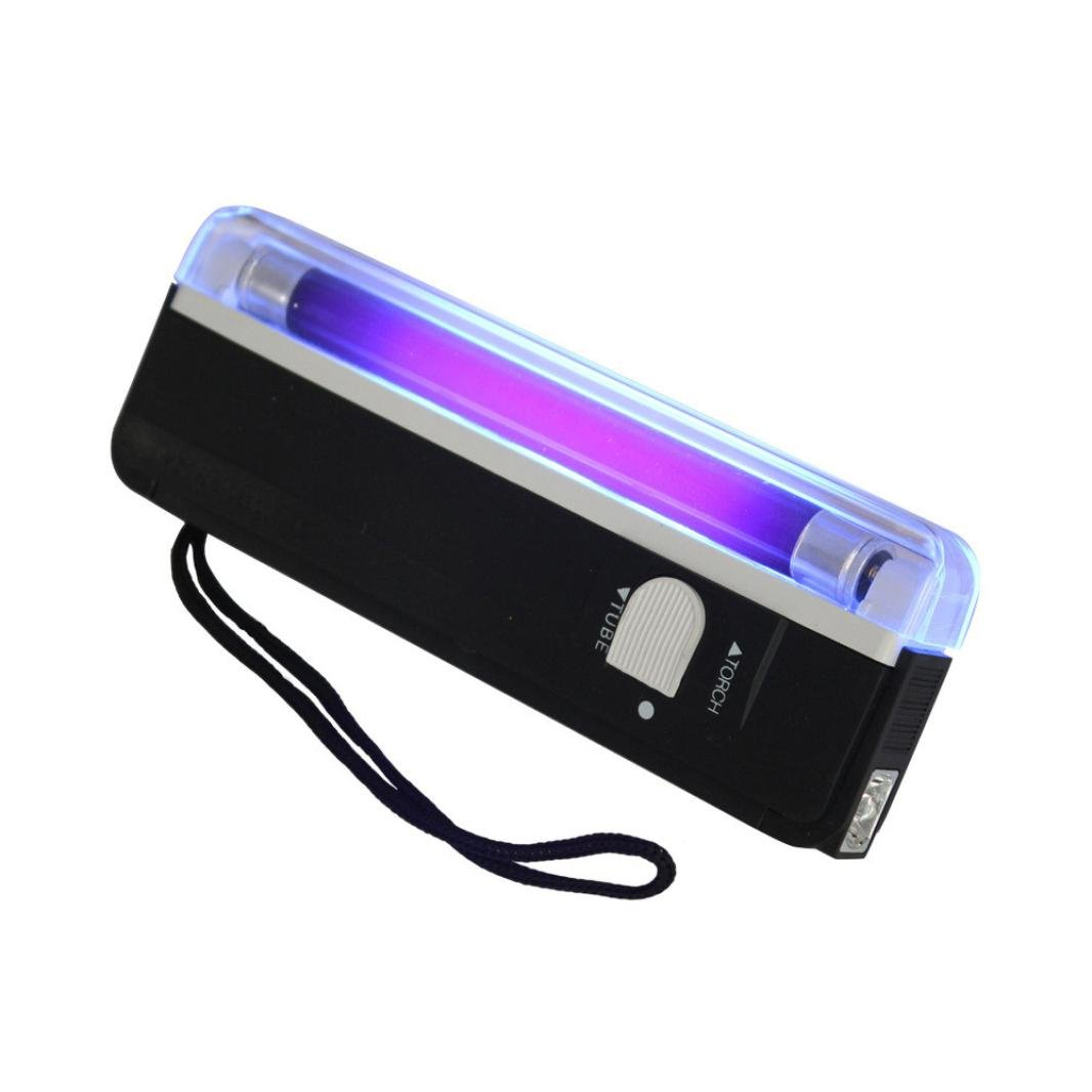 Byste Handheld Flashlight UV Light Torch Portable Blacklight with LED Carry Strap Daily Checking