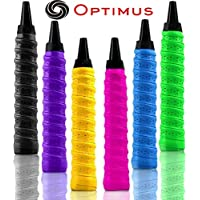 Optimus® Onex Multipurpose Overgrip Tape Racket Grip Tape(PU)-for Badminton/Tennis/Squash/TT Racquets, Baseball Bats, Bicycle Handlebars, Fishing Rods, Walking Sticks Etc