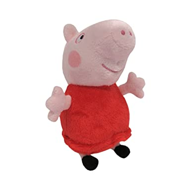 Peppa Pig - Mini peluches (Bandai 84252)