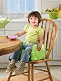 Fisher-Price Healthy Care Booster Seat, Green/Blue, One size