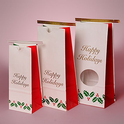 Christmas Coffee Bags 1/2lb 3-3/8
