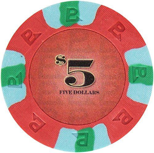 Trademark Poker NexGEN 6000 Series PRO Classic Style Poker Chips (Set of 100), 9gm, (Pro Classic Poker Chips)