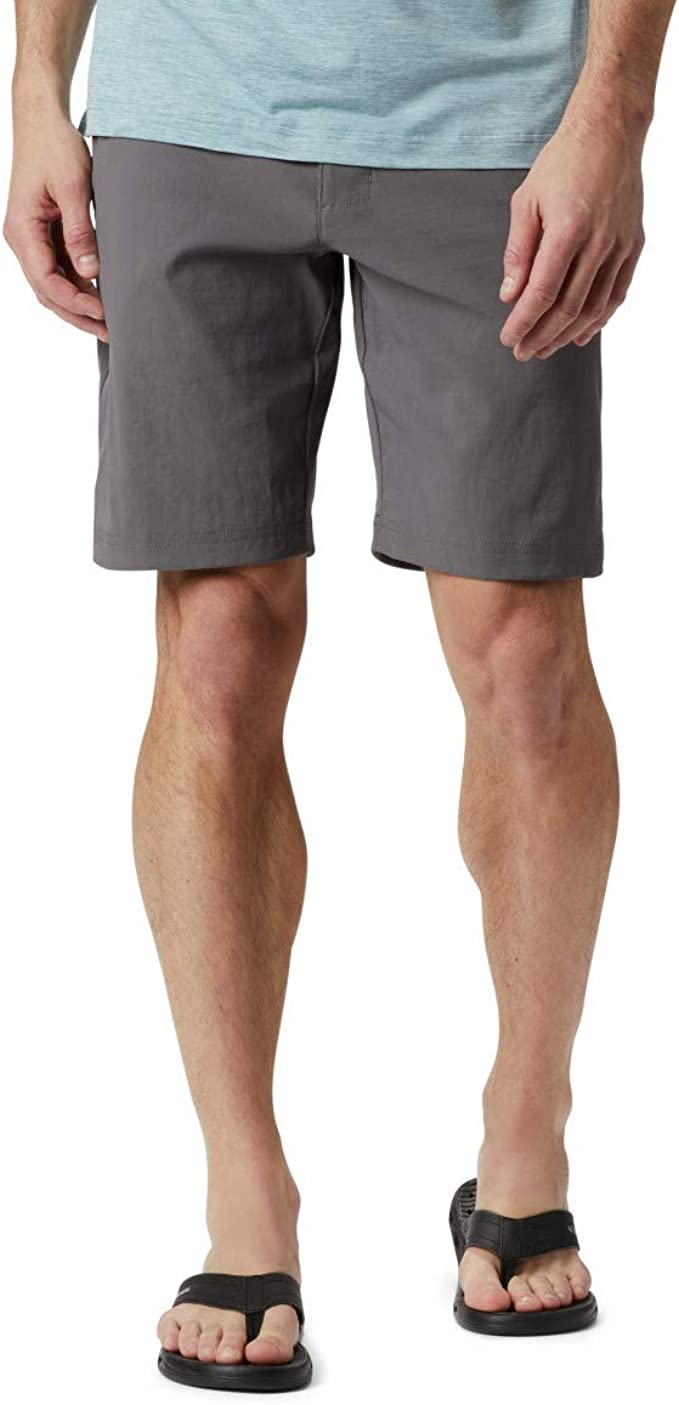 """NWT $50 COLUMBIA MENS ROYCE PEAK SHORTS 10/"""" INSEAM COLOR:OLIVE SIZE 30"""