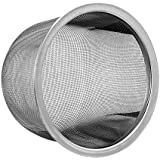 Details about Teapot Tea pot Replacement Stainless Steel Mesh Strainer Infuser (78-84mm diameter)
