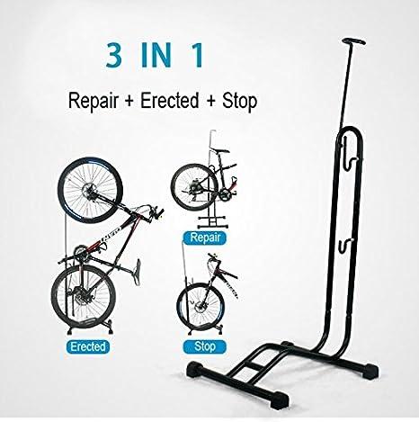 Soporte multiusos tipo L para bicicleta, para reparación, aparcamiento o exposición: Amazon.es: Deportes y aire libre