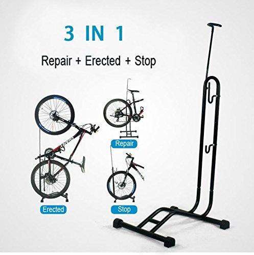 Soporte multiusos tipo L para bicicleta, para reparación, aparcamiento o exposición para reparación aparcamiento o exposición Teraysun