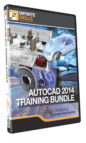 Discounted - Learning AutoCAD 2014 Bundle - Training DVD by Infiniteskills