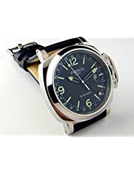 Parnis Automatic Men's Watch Mechanic GMT Two Times OEM By Seagull